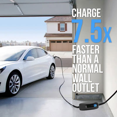 40 amp electric car charging station