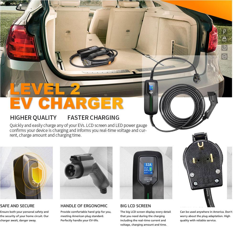 40 amp ev car charging station
