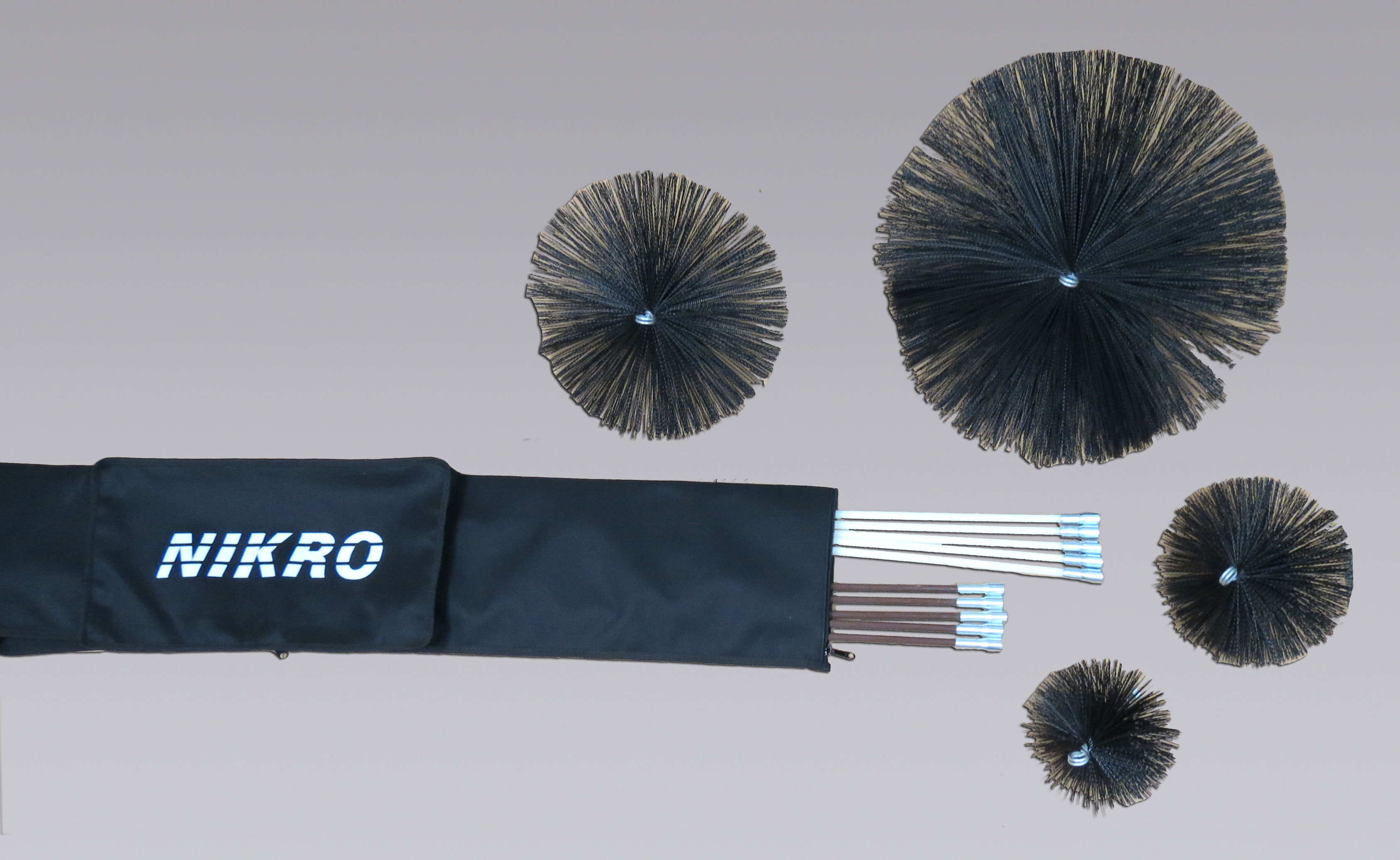 nikro air duct cleaning rods and brushes