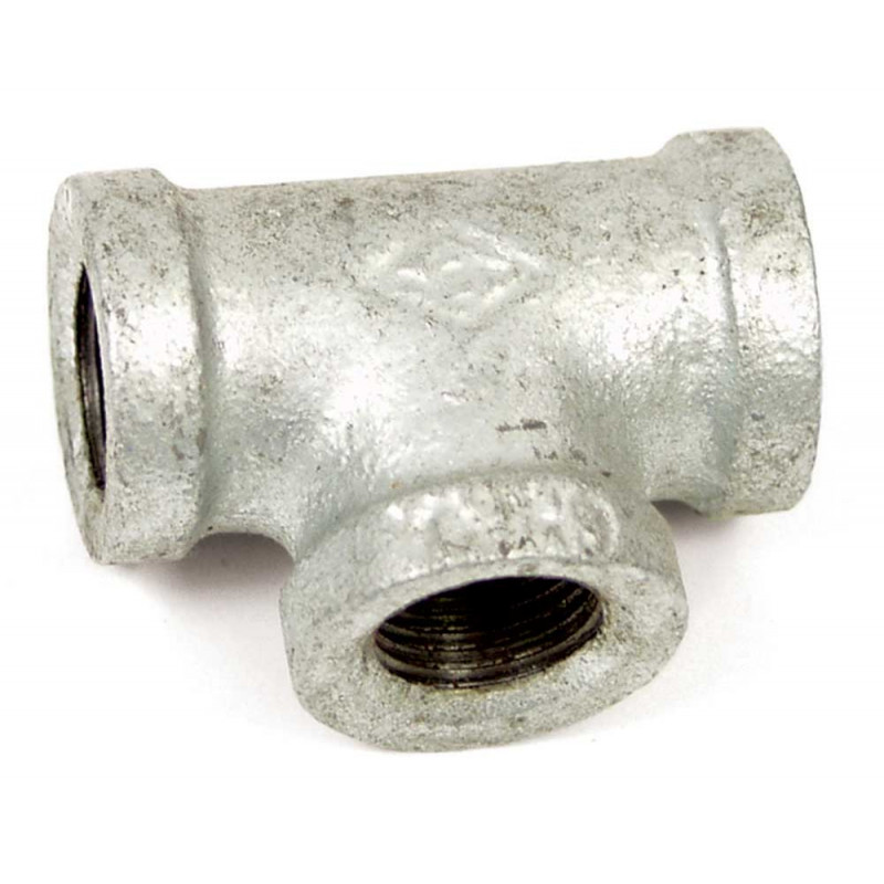 """1/2"""" Galvanized Tee Fitting, FPT (8.705-459.0)"""