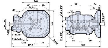 Ar Pump Rcv3g27d F7 Replacement Pressure Washer 3 Gpm 2700
