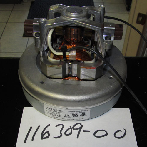 Ametek Lamb 116309 00 Single Stage Vacuum Motor 120 Volts 116309 00 Vacuum Motors: ametek lamb motor