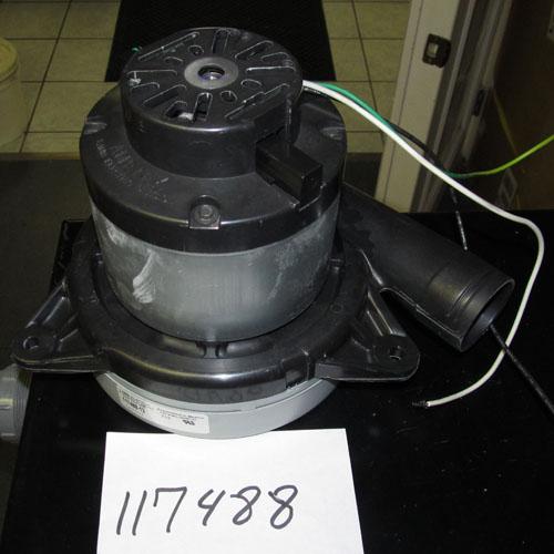 Ametek Lamb 117488 Two Stage Vacuum Motor 7 2inch Bypass