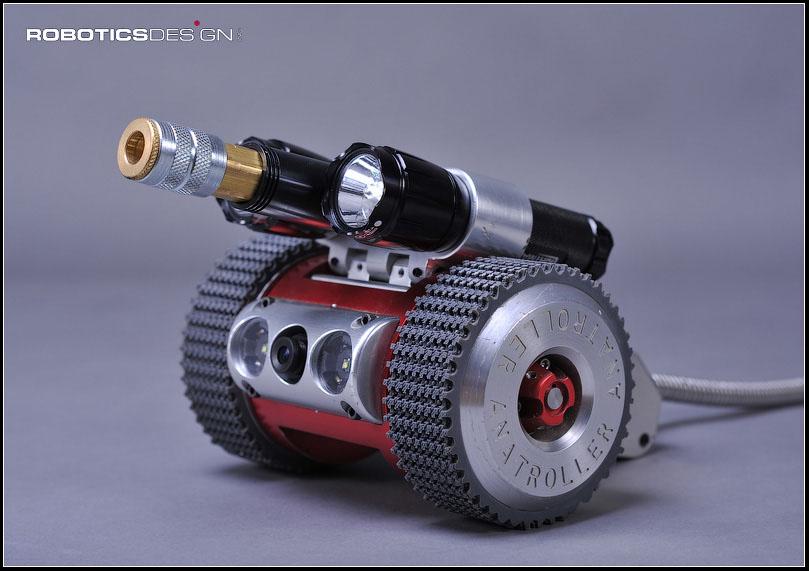 Robotic Designs Anatroller Ari10 Robotic Air Duct Cleaner