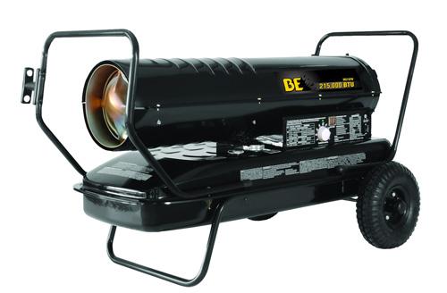 Be Pressure Hk215fw Forced Air Kerosene Diesel Heater 215