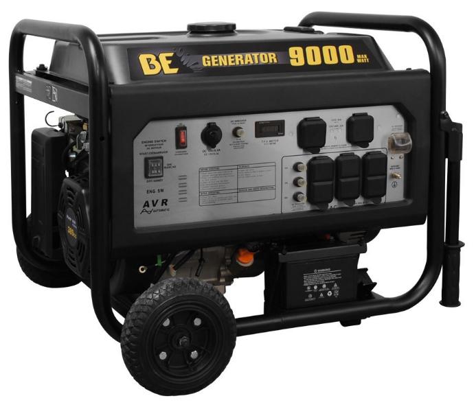 BE9000 watt generator pressure be pressure supply powerease 9000 watt generator electric start  at fashall.co
