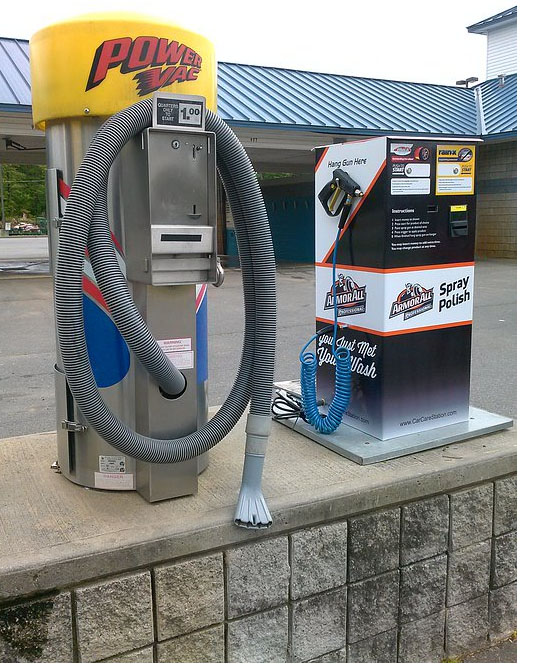 car wash change machine