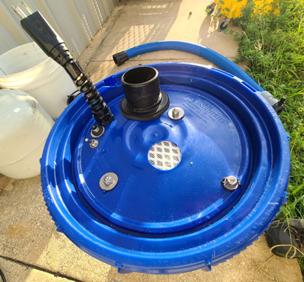 disinfection fogger with detachable hose