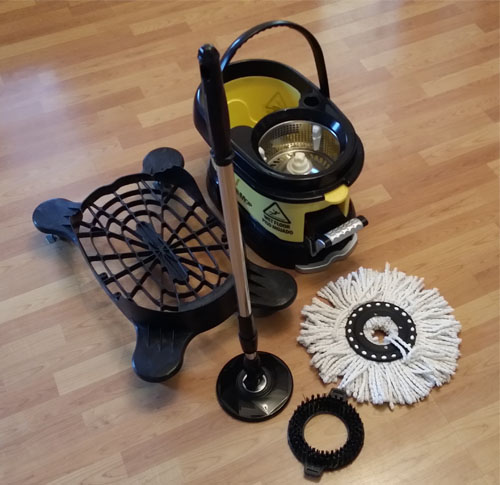 Cyclomop Cm500 Commercial Spin Mop Without Dolly Wheels