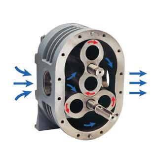 positive displacement vacuum blower