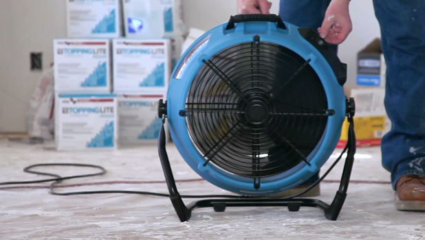 construction air mover