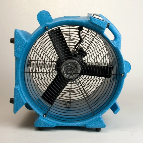 Axial Air Mover : Edic aviator axial air mover carpet fan with wheels
