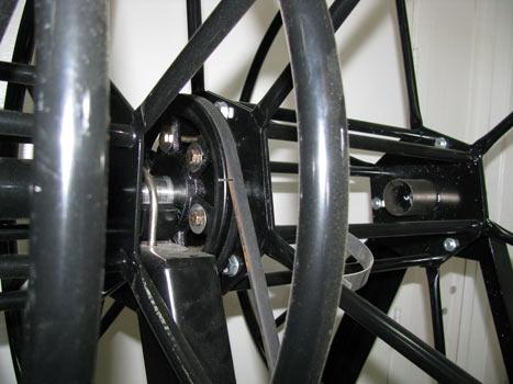 live electric truckmount hose reel