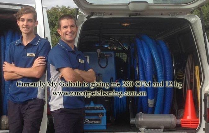 Goliath portable truckmount