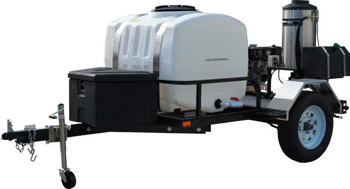 TRS/4012-40HA pressure pro trailer front side