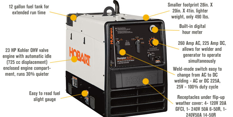 hobart 500562 champion elite acdc arc welder ac generator free shipping [500562] - welders ... 2003 champion boat wiring diagram hobart champion elite wiring diagram