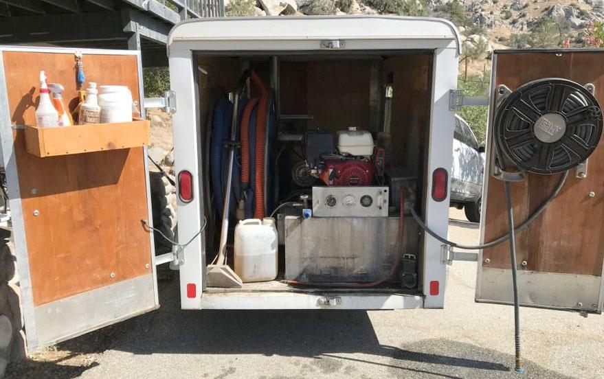 beginer trailer truckount