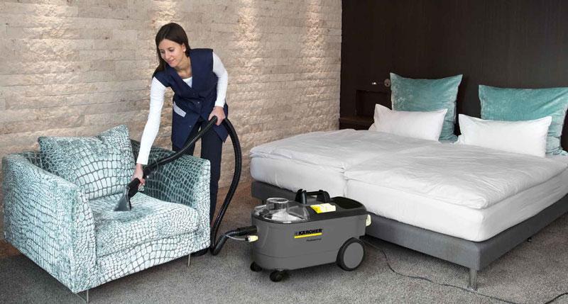 hotel cleaning machine
