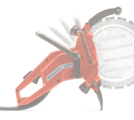 Husqvarna K3600MK II adjustable handle
