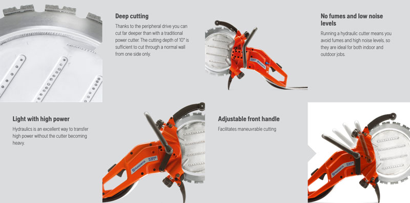 Husqvarna K3600MK ring saw features