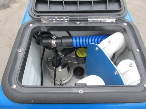 carpet cleaner flood pumper water extraction machine