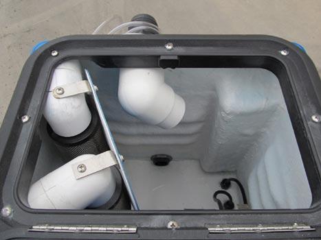 top view of goliath 20 gallon machine