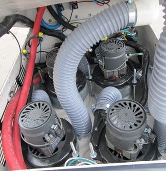 Goliath quad 4 vacuum motors