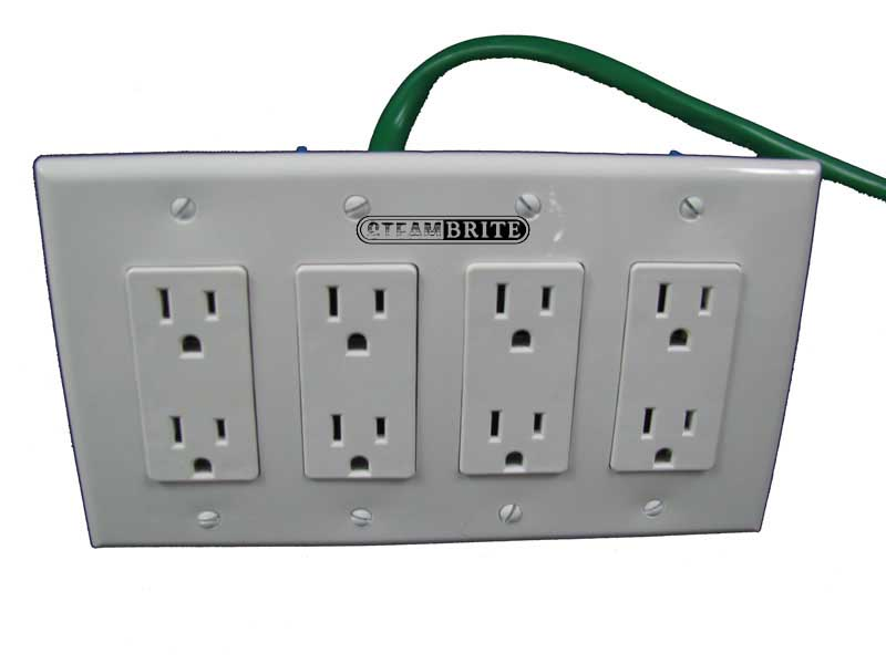 Electrical Converter 230 Volt 3 Wire Prong 30 Amp To 115 Volt 4 Gang ...