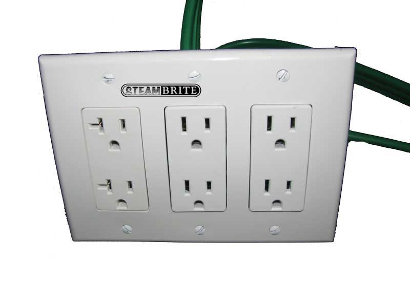 electrical converter 3 gang distrubution power box