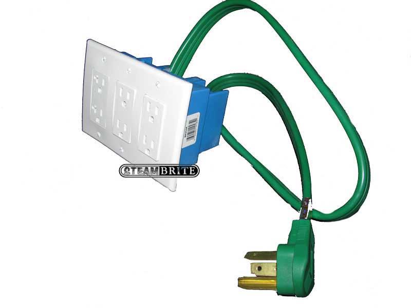 3 power cord supply