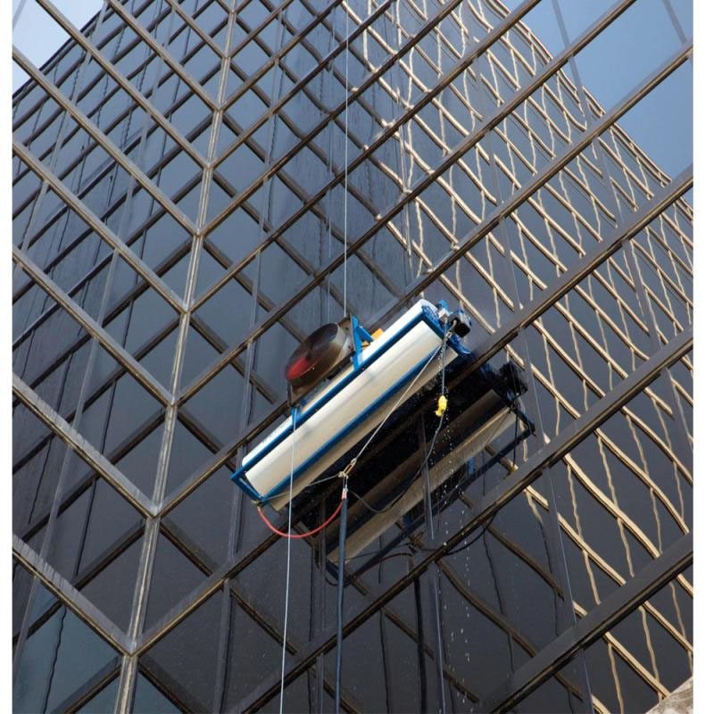Advantage For High-Rise Window Cleaning! The HighRise™ can safely do