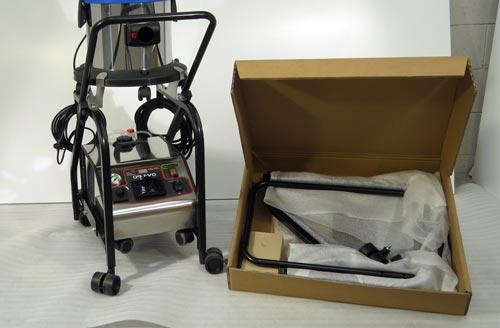imex serve trolley cart system for Evo Junior vapor steamer