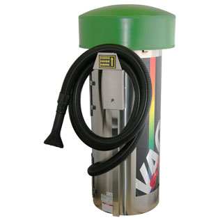 J.E. ADAMS 9235LD Commercial Vacuum - 2 Motor - Lighted Dome-Car Wash Vacuum Toggle On/ Off