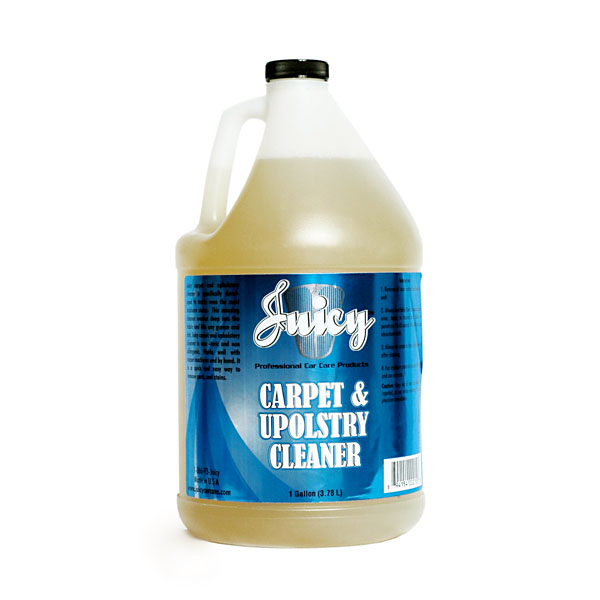juicy car wash carpet and upholstry cleaner gallon cuc gal auto detailing chemicals by. Black Bedroom Furniture Sets. Home Design Ideas