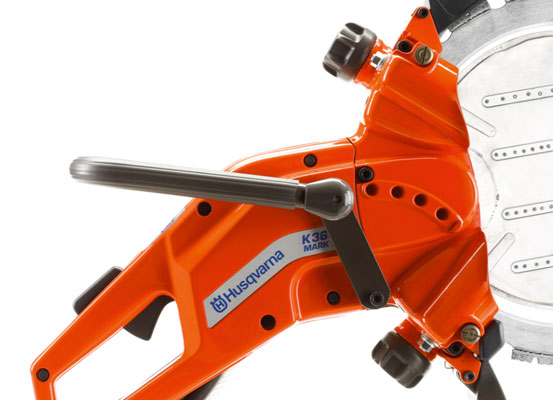 Husqvarna K3600MK II close up