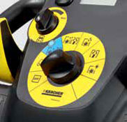 karcher b 40 auto scrubber controls