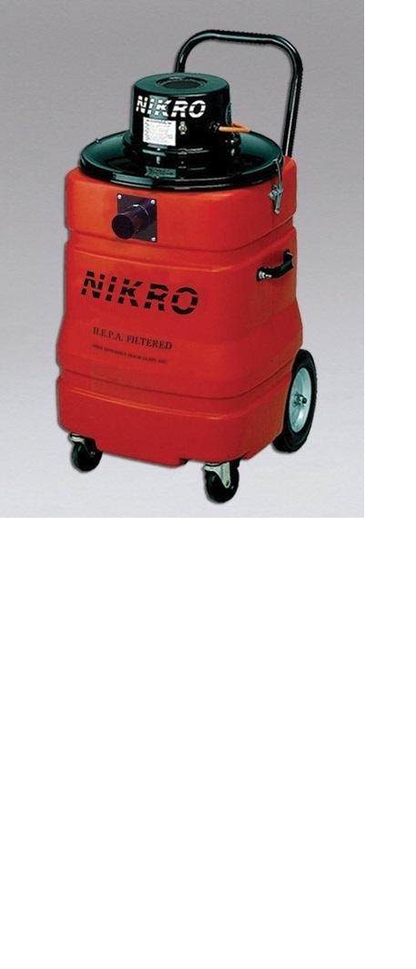 Nikro LV15 15 Gallon HEPA Lead Vacuum