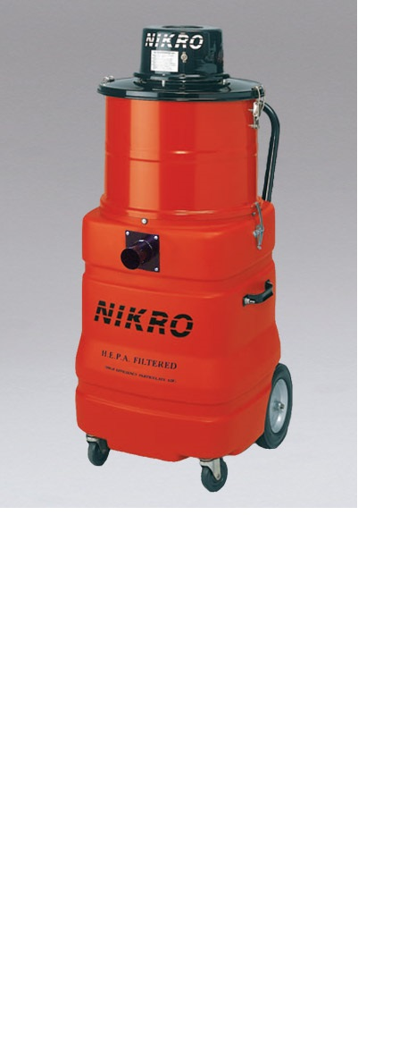 Nikro LV15 15 Gallon Wet/Dry HEPA Lead Vacuum
