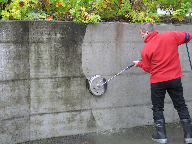 vk how to clean wall