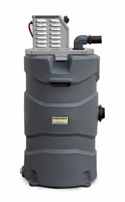 power washer water vacuum pickup reclaim machine