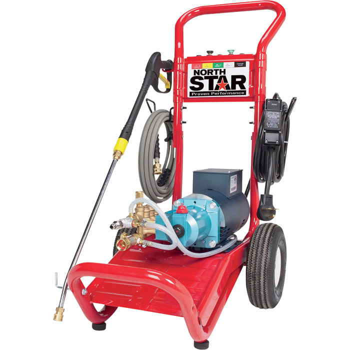Northstar 1573021 Cold Water Electric Pressure Washer 2 5gpm 3000psi