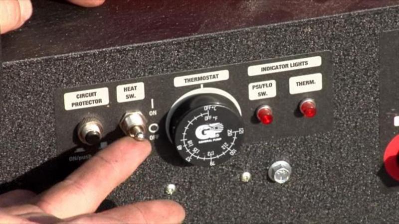 Northstar 157309 Gas Powered Wet Steam Hot Water Pressure