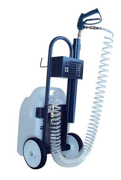 Master Clean 200W Penguin Electric Sprayer with wheels FREE