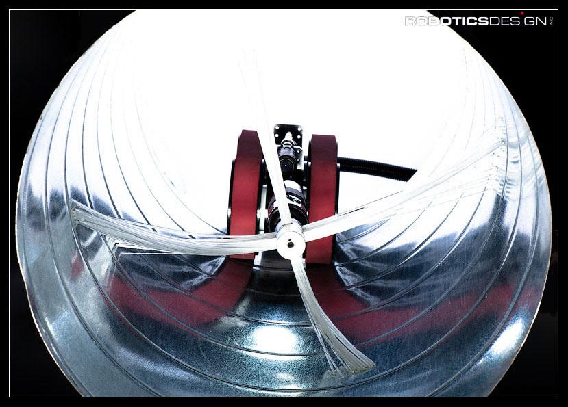 Robotic Designs Anatroller Ari50 Robotic Air Duct Cleaner