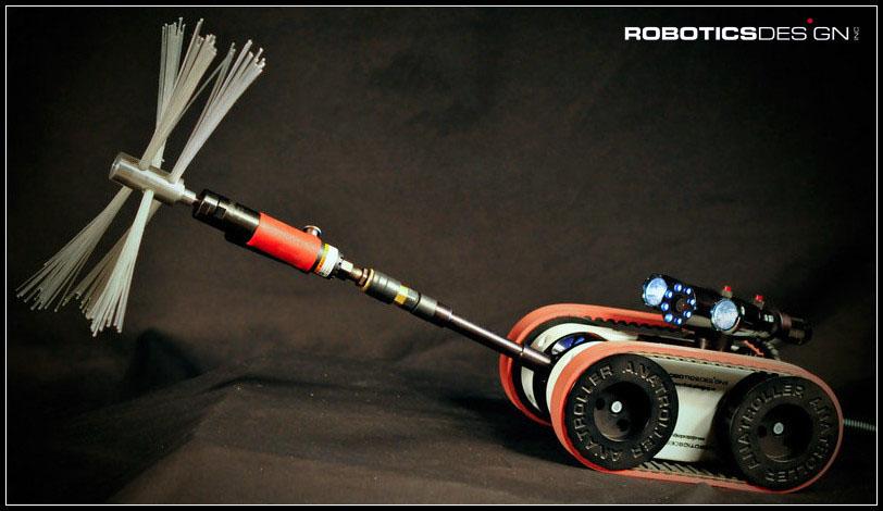 Robotic Designs Anatroller Ari100 Robotic Air Duct Cleaner