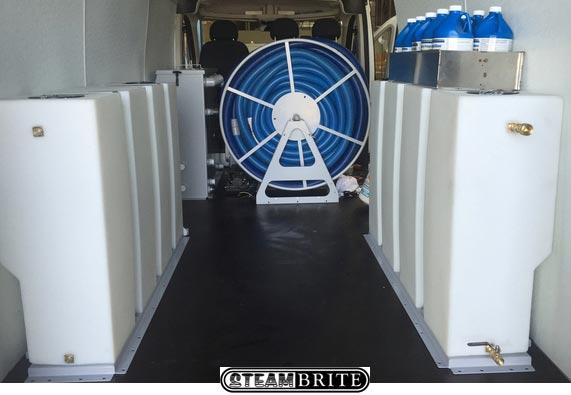Sapphire Scientific truckmount fresh water tank