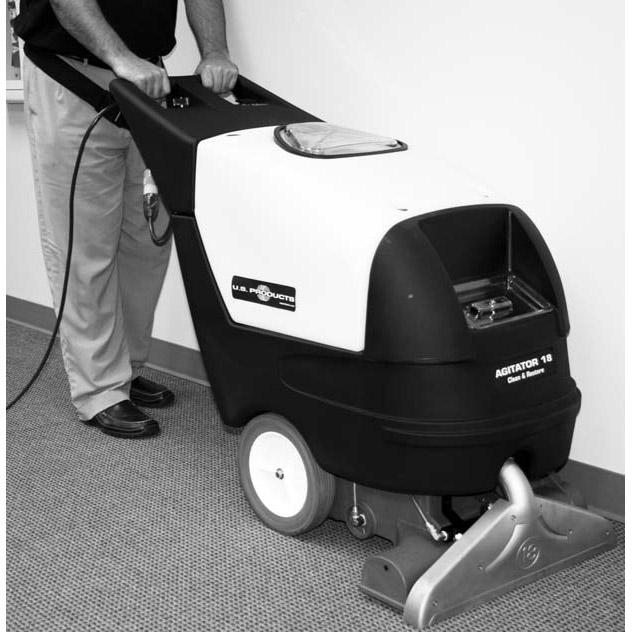 carpet agitator machine