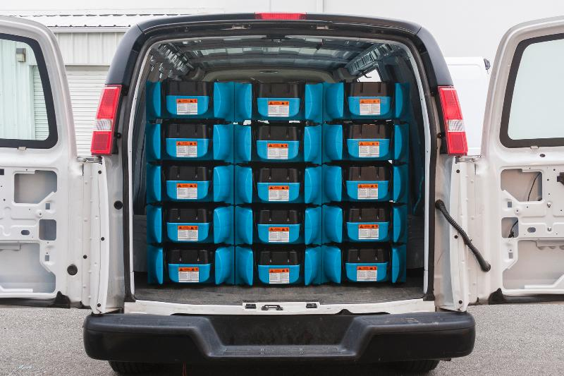 velo stacking air mover fits more in your restoration van