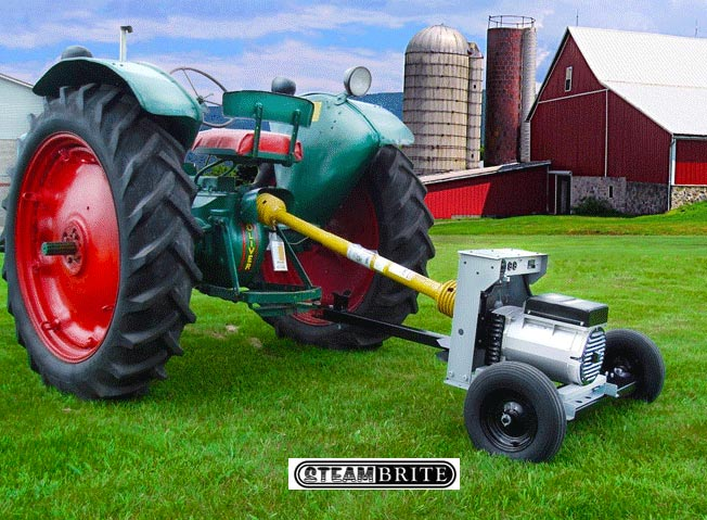 Tractor Power Take Off : Winco w ptos kw pto generator for hp tractors