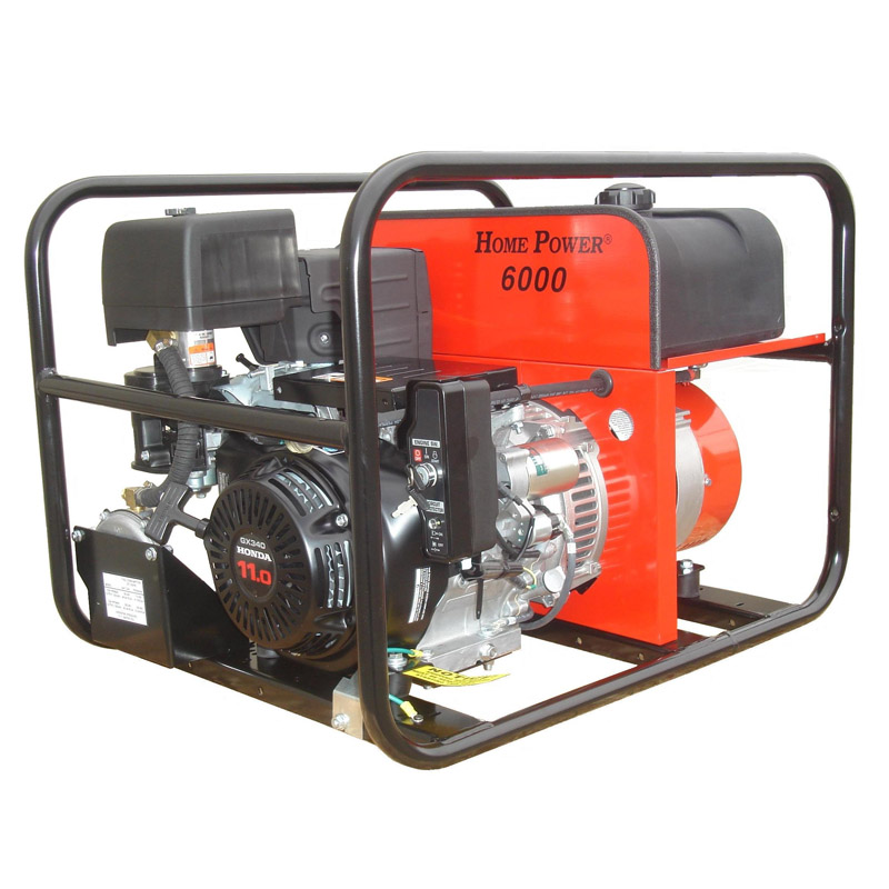 Winco Generators Hps6000he Home Power Bi Fuel Portable